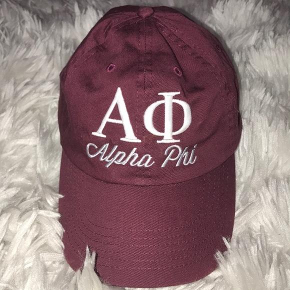 0baa0e7360c Alpha Phi Accessories - Alpha Phi Dad Hat
